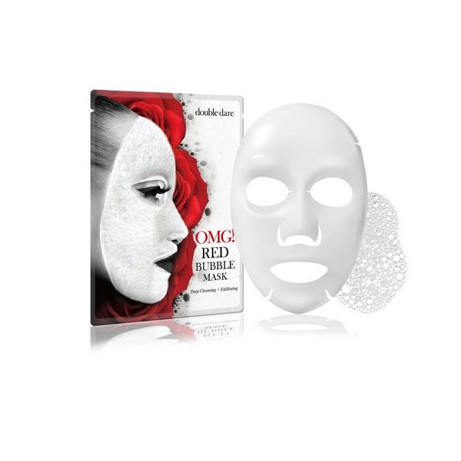 Bilde av OMG RED Bubble Mask 1 stk